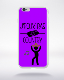Coque j peux pas j ai country 3 compatible iphone 6 transparent