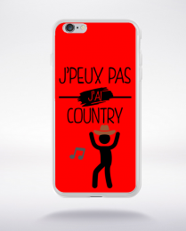 Coque j peux pas j ai country 2 compatible iphone 6 transparent