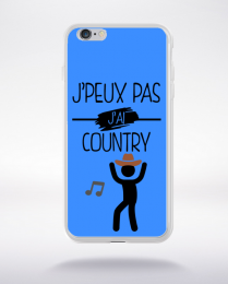 Coque j peux pas j ai country 7 compatible iphone 6 transparent