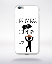 Coque j peux pas j ai country 9 compatible iphone 6 transparent