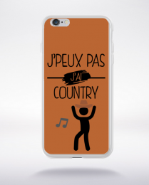 Coque j peux pas j ai country 4 compatible iphone 6 transparent