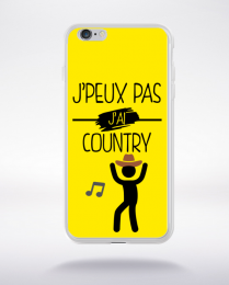 Coque j peux pas j ai country 1 compatible iphone 6 transparent