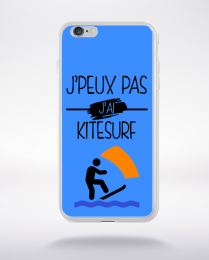 Coque j peux pas j ai kitesurf 8 compatible iphone 6 transparent