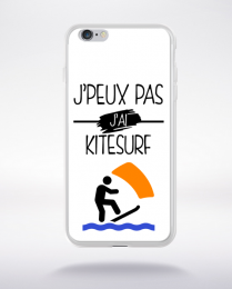 Coque j peux pas j ai kitesurf 10 compatible iphone 6 transparent