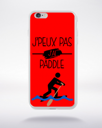 Coque j peux pas j ai paddle 3 compatible iphone 6 transparent