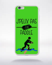 Coque j peux pas j ai paddle 7 compatible iphone 6 transparent