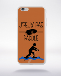 Coque j peux pas j ai paddle 5 compatible iphone 6 transparent