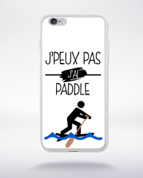 Coque j peux pas j ai paddle 10 compatible iphone 6 transparent