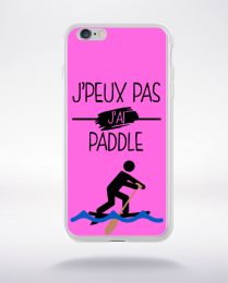 Coque j peux pas j ai paddle 6 compatible iphone 6 transparent