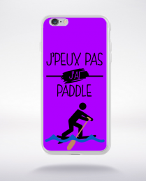 Coque j peux pas j ai paddle 4 compatible iphone 6 transparent