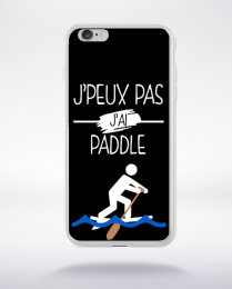Coque j peux pas j ai paddle 1 compatible iphone 6 transparent