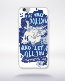 Coque find what you love compatible iphone 6 transparent