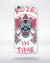 Coque frozen in time compatible iphone 6 transparent