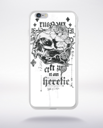 Coque i am heretic compatible iphone 6 transparent