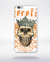 Coque king skull compatible iphone 6 transparent