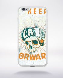Coque keep pushing forward compatible iphone 6 transparent