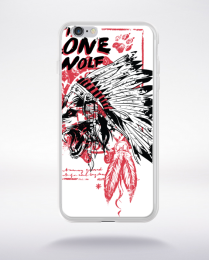Coque the lone wolf compatible iphone 6 transparent