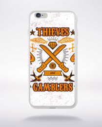 Coque thieves and gamblers compatible iphone 6 transparent
