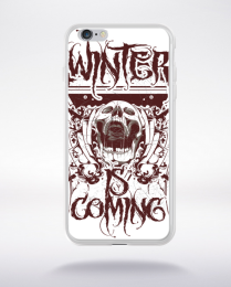 Coque winter is coming compatible iphone 6 transparent