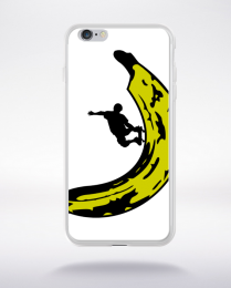 Coque banana skateboard compatible iphone 6 transparent