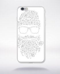 Coque birds beard compatible iphone 6 transparent