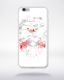Coque crystal lake compatible iphone 6 transparent