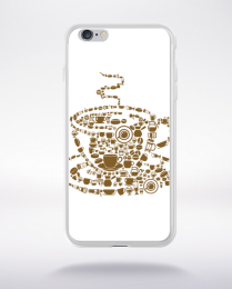 Coque coffee compatible iphone 6 transparent