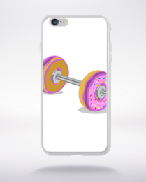 Coque donut barbell compatible iphone 6 transparent