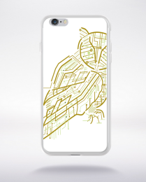 Coque electrical owl compatible iphone 6 transparent