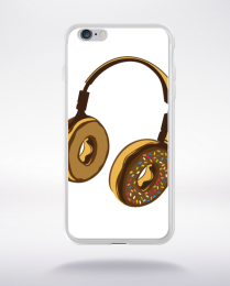 Coque headphone donut compatible iphone 6 transparent