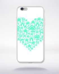 Coque home heart compatible iphone 6 transparent