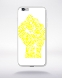 Coque hand of revolution compatible iphone 6 transparent
