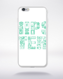 Coque hipster compatible iphone 6 transparent