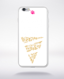 Coque ice cream compatible iphone 6 transparent