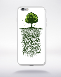 Coque know your roots compatible iphone 6 transparent
