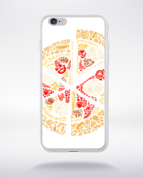 Coque pizza compatible iphone 6 transparent