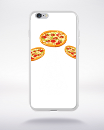 Coque pizza ufo compatible iphone 6 transparent