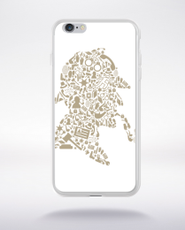 Coque sherlock holmes compatible iphone 6 transparent