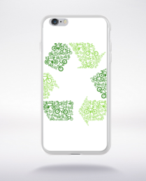 Coque recycling compatible iphone 6 transparent