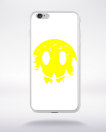 Coque smiley moon compatible iphone 6 transparent