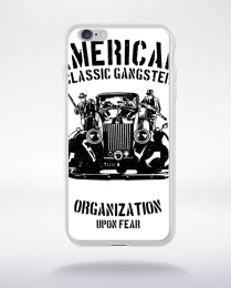Coque american classic gangster compatible iphone 6 transparent