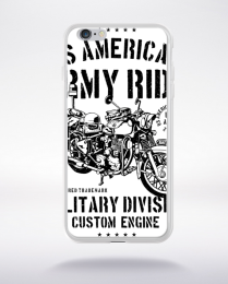 Coque army ride compatible iphone 6 transparent
