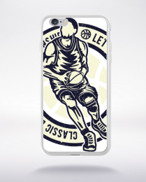 Coque classic basketball compatible iphone 6 transparent