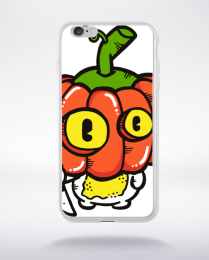Coque funny pumpkin compatible iphone 6 transparent