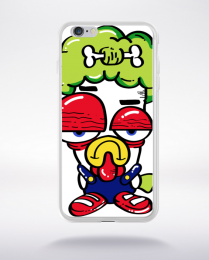 Coque funny clown compatible iphone 6 transparent