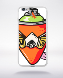 Coque graffiti compatible iphone 6 transparent