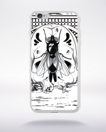 Coque bacterial decay 1 compatible iphone 6 transparent