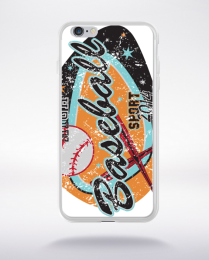Coque baseball game compatible iphone 6 transparent