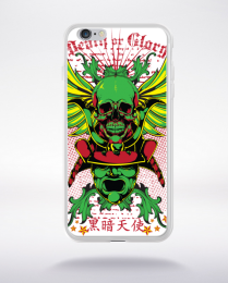 Coque death or glory compatible iphone 6 transparent