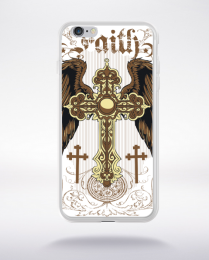 Coque faith and freedom compatible iphone 6 transparent